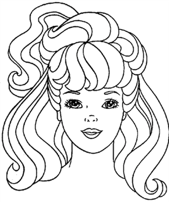 Barbie and The Diamond Castle Coloring Pages 3