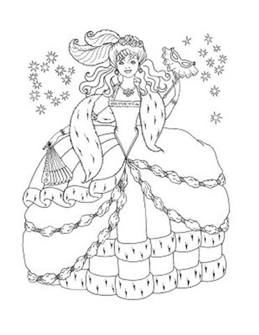 Barbie and The Diamond Castle Coloring Pages 5