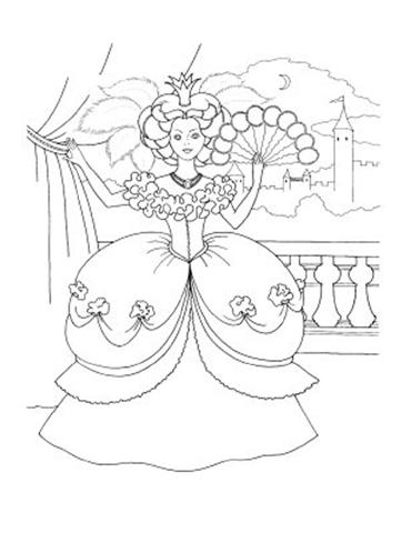 Barbie and The Diamond Castle Coloring Pages 6