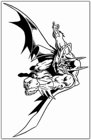 Batman Coloring Pages 10