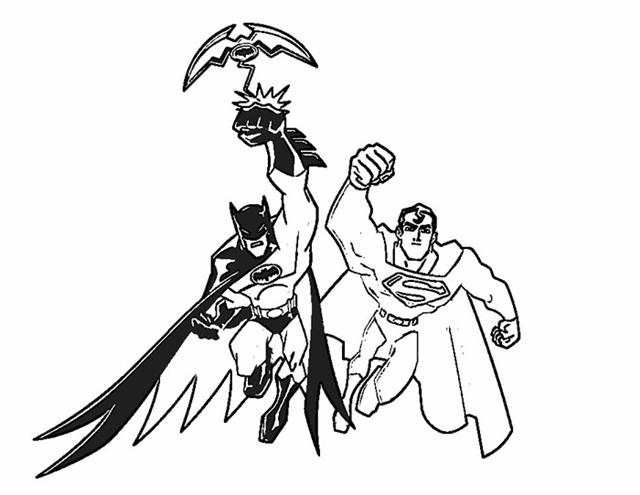 Batman Coloring Pages 13
