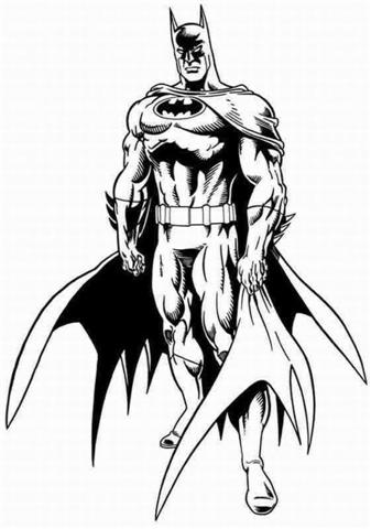 Batman Coloring Pages 15