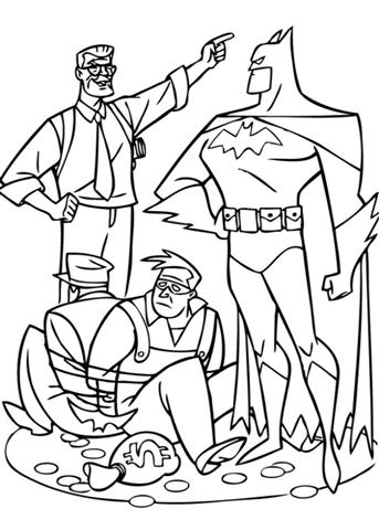 Batman Coloring Pages 16