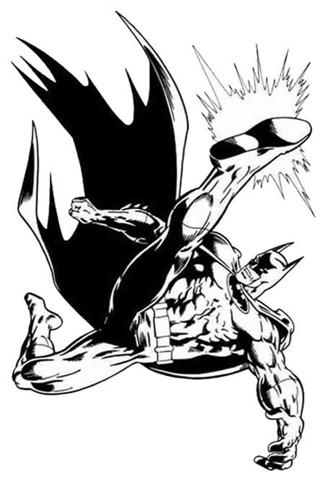 Batman Coloring Pages 7