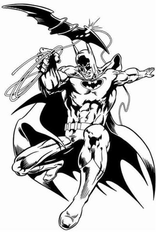 Batman Coloring Pages 8
