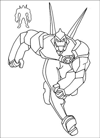 Ben 10 Alien Force Coloring Pages 17
