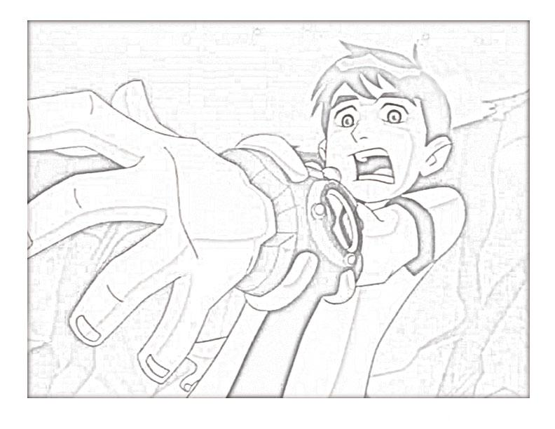 Ben 10 Alien Force Coloring Pages 19