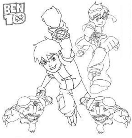 Ben 10 Alien Force Coloring Pages 22