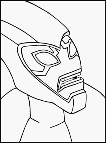 Ben 10 Alien Force Coloring Pages 3
