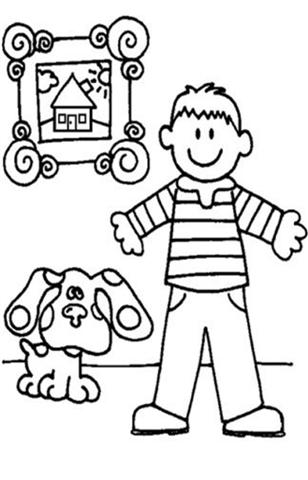 Blues Clues Coloring Pages 9