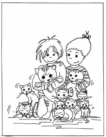 Child Coloring Pages 12