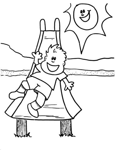 Child Coloring Pages 7