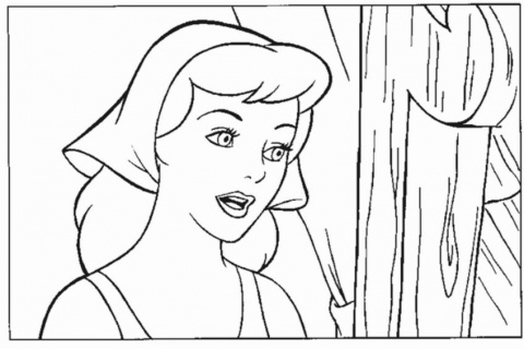 Cinderella New Coloring Pages 23