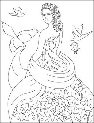 Cinderella New Coloring Pages 29