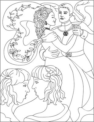 Cinderella New Coloring Pages 31