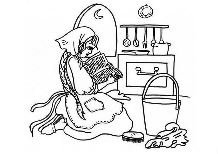 Cinderella New Coloring Pages 33