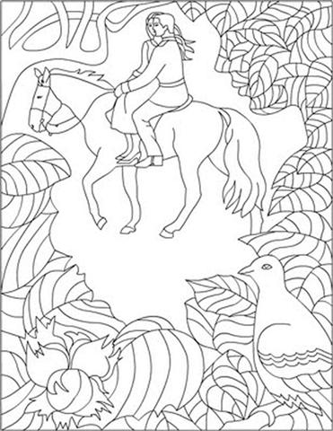 Cinderella New Coloring Pages 4