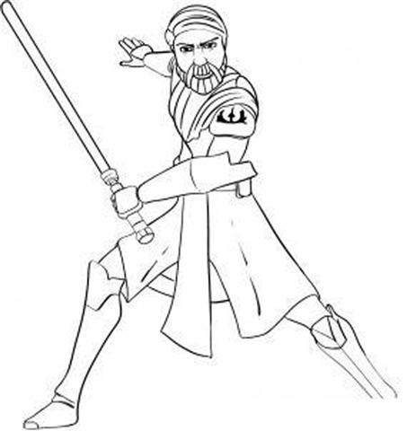 Clone Wars Coloring Pages 2