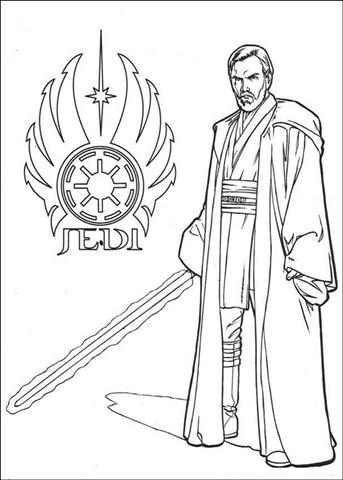 Clone Wars Coloring Pages 7