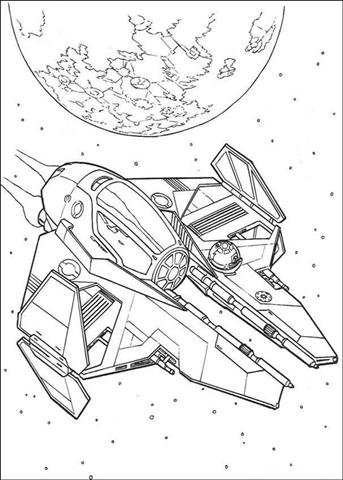 Clone Wars Coloring Pages 9