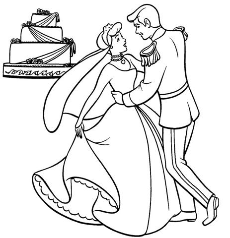 Dancing Princess Coloring Pages 3