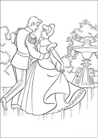 Dancing Princess Coloring Pages 9