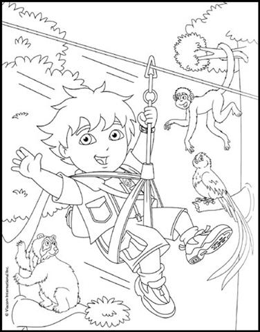 Go Diego Coloring Pages 5