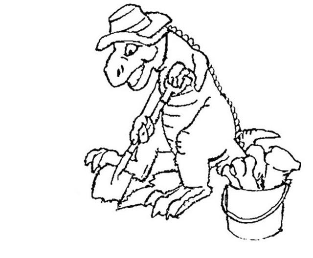 Dinosaur Coloring Pages 19