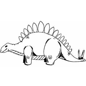 Dinosaur Coloring Pages 38