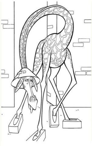 Madagascar Coloring Pages 6