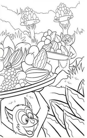 Madagascar Coloring Pages 7