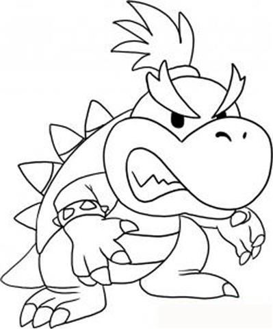 Super Mario Coloring Pages 12