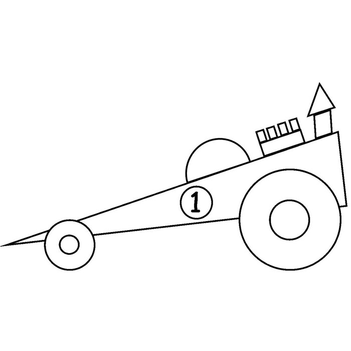 Shape Coloring Pages 3