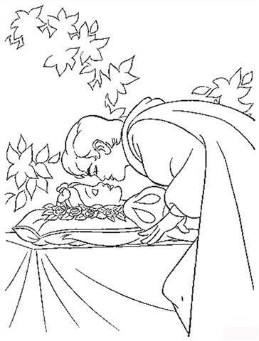Snow White  Coloring Pages 10