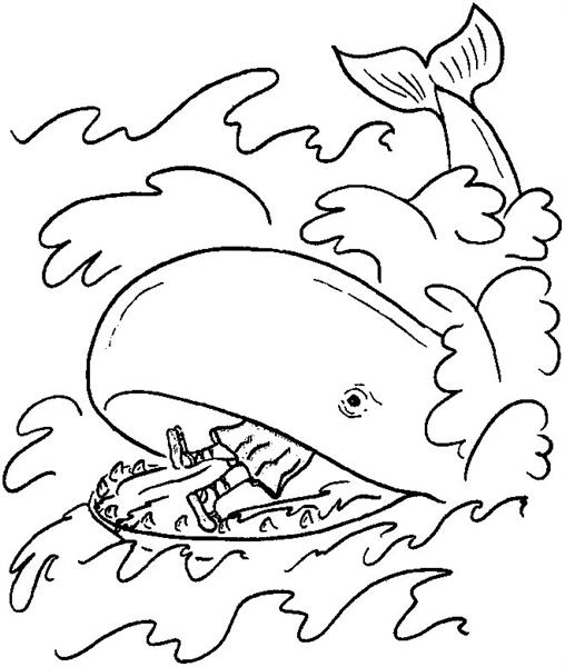 Shark Coloring Pages 2
