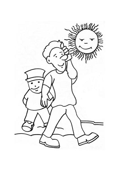 People Coloring Pages 3