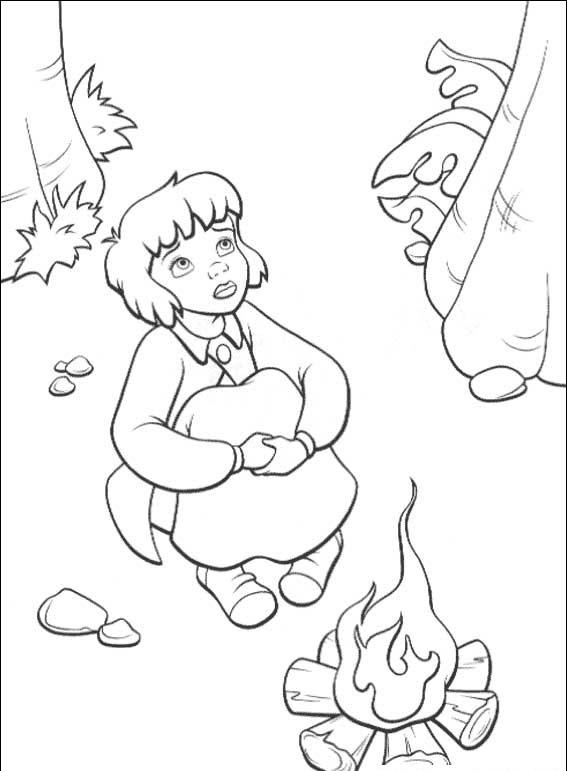 Peterpan in Return to Neverland Coloring Pages 4