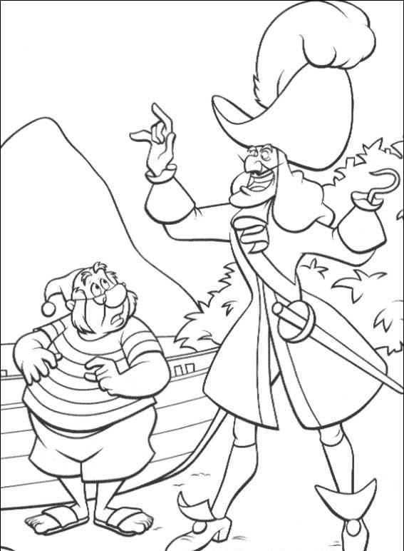 Peterpan in Return to Neverland Coloring Pages 7