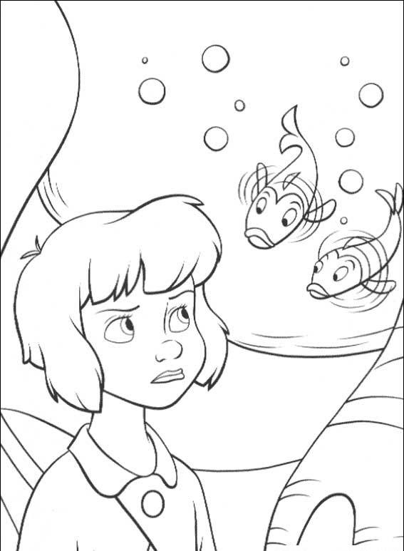 Peterpan in Return to Neverland Coloring Pages 9