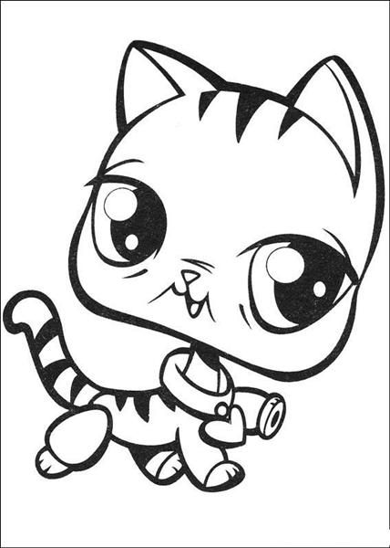 Pets Coloring Pages 10