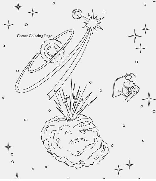 Solar System Coloring Pages 1
