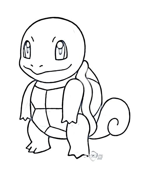 Pokemon Dungeon Coloring Pages 5