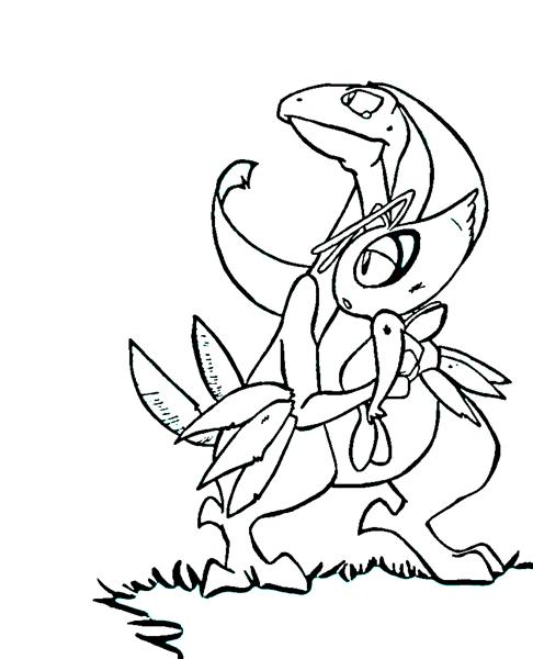Pokemon Dungeon Coloring Pages 8