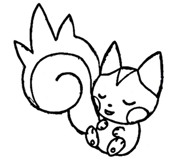 Pokemon Mystery Dungeon Coloring Pages 2