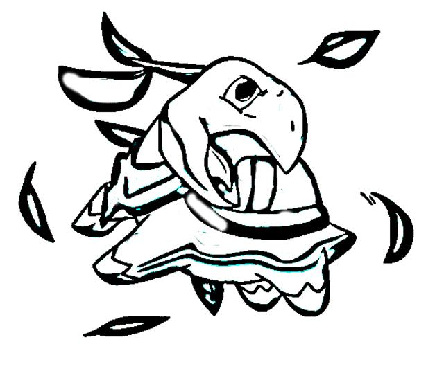Pokemon Mystery Dungeon Coloring Pages 3