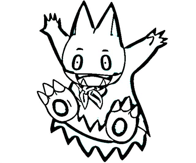 Pokemon Mystery Dungeon Coloring Pages 9