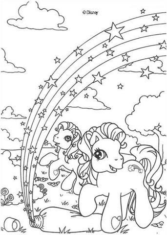 My Little Pony Coloring Pages 9