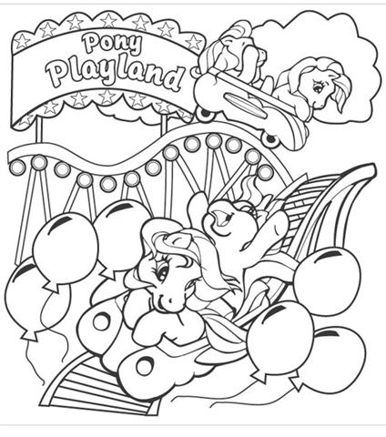My Little Pony Coloring Pages 10