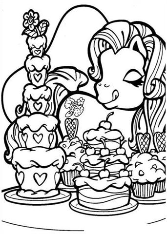 My Little Pony Coloring Pages 11