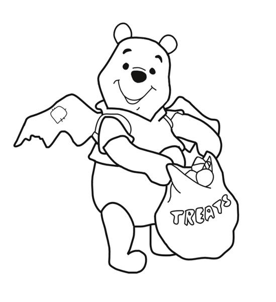 Pooh Bear Coloring Pages 2